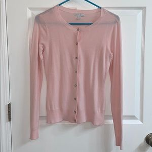 NY&Co. Light Pink Cardigan Long Sleeves